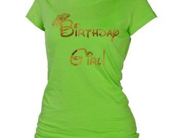 Disney Birthday Girl shirt