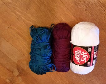 Assorted Colors - Acrylic Blend Yarn - Free Shipping