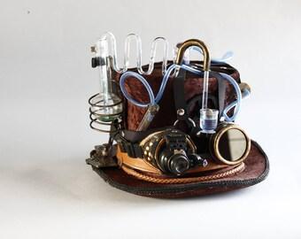 steampunk hat science