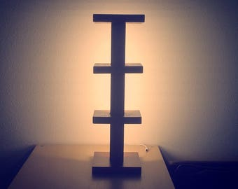 Modern Tiered Lamp