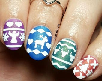 Cozy Sweater Nail Vinyls