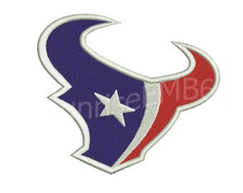 9 Sizes**Houston Texans Embroidery design- 8 formats machine embroidery design - Instant Download machine embroidery pattern