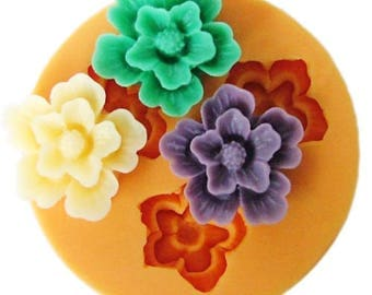 Mini Flowers Silicone Mold