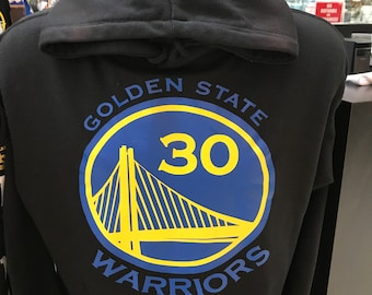 golden state warriors hoodie black