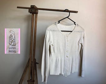 1930's French cotton Blouse