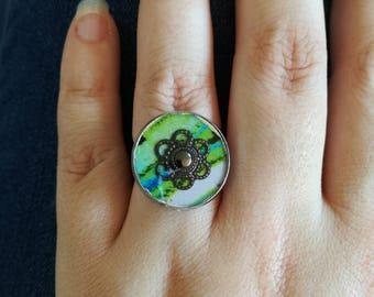 Round rings beads 1.8 cm