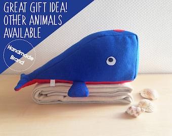 Whale stuffed toy, stuffed animal whale, soft toy whale, cuddly toy whale, plush toy whale, whale plushie, cute baby soft toy, stuffed whale