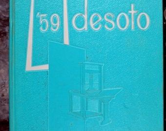 Desoto Memphis State University - Memphis, Tn. 1959 Yearbook