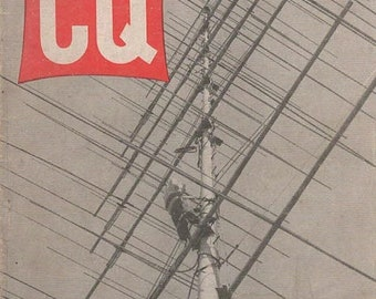 CQ The Radio Amateur's Journal Magazine September 1958 Antenna Forest
