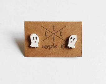 Cute Ghost Stud Earrings