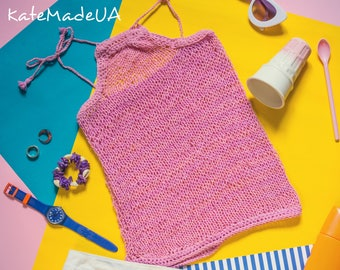 Crochet women top, Halter Tops