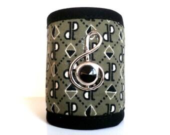 fabric Cuff Bracelet as an air