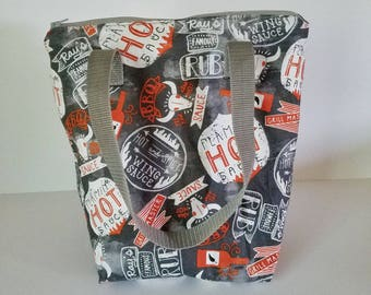 Insulated lunch bag, waterproof lunch bag, adult lunch bag, lunch tote, lunch bag for men, reusable lunch bag