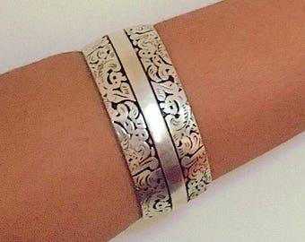 Moroccan Bracelet, Boho Cuff, Moroccan Jewelry, Gypsy Vibes, Coachella style, Bohochic Bracelet, Bohemian Cuff Bracelet, Silver Bracelet