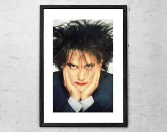 Robert Smith - The Cure - Painting - The Cure Poster - The Cure Band - Post Punk - New Wave - 80s - Rock Poster - Gothic Rock - Music Art