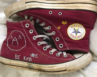 Custom High Top Converse: You send me your shoes