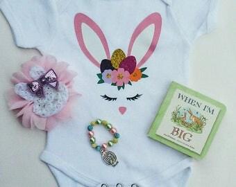 Easter Onesie, Easter Bunny Onesie