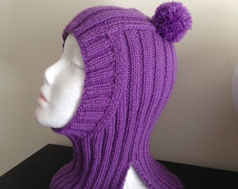 SALE!!!! Kids Hat. Kids Knits 2-4 years 100%Hand Knitted Hat Unisex.Сap-helmet Alpaca wool , Merino wool