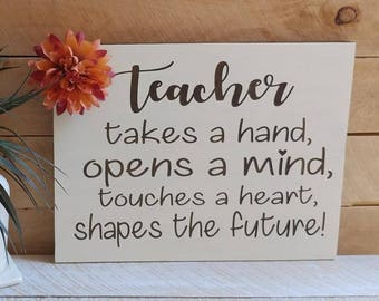 Teacher Sign