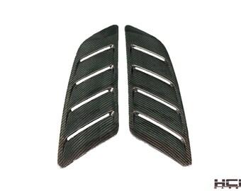 2015 – 2017 Mustang Carbon Fiber Roush Style Hood Vents