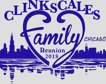 Adult- Clinkscales 2018 Family Reunion T-Shirt
