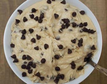Chocolate Chip Ahoy Cookie Dough - 12oz. Jar of Edible Cookie Dough - Gourmet Edible Cookie Dough