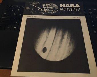 NASA ACTIVITIES Magazine: January 15 1974