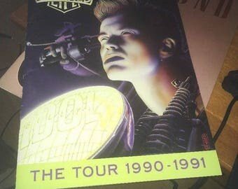 Billy Idol; Charmed Life Concert Program, The Tour 1990-1991