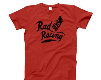 RAD RACING retro 80s style classic bmx bicycle movie Cru Jones T-Shirt
