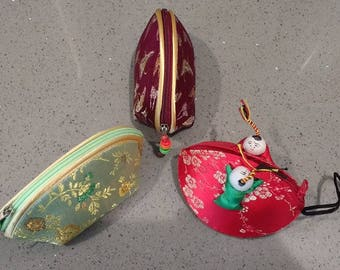 Handmade Asian/ Chinese coin purses