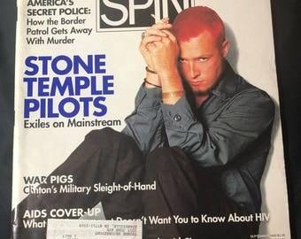 1993 SPIN Magazine- Stone Temple Pilots
