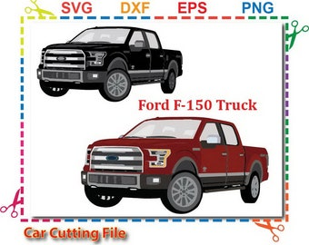 Car svg, Truck Clipart, SVG Cut Files, ford f 150, svg file for cricut ,SVG for Silhouette Studio, car svg cut file, commercial use