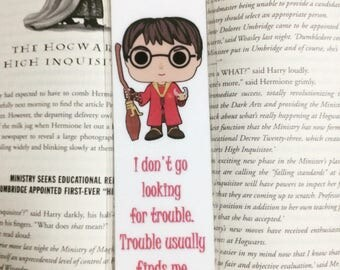 Harry Potter Quote Statement Laminated Bookmark