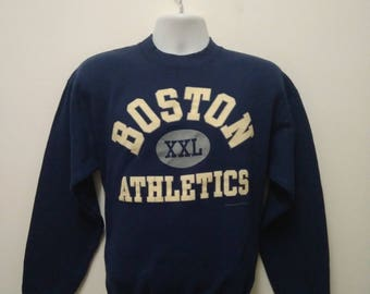 Vintage 90s Boston XXL Athletics Sweatshirt Size L