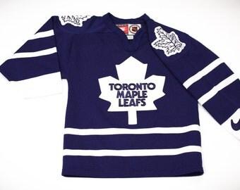 Vintage 90s Nike Toronto Maple Leafs NHL Hockey Jersey