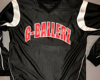 Retro Long Sleeve Basketball Jersey