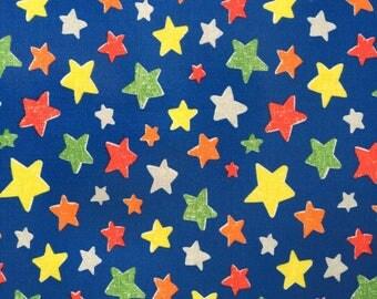 "Cath Kidston PVC Coated Cotton Oilcloth Square 17""x17""(45cm x45cm) Stars OF069"