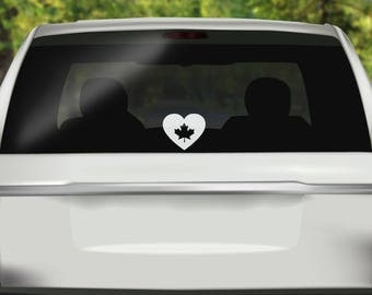 Canada Decal Etsy - Custom vinyl car decals canada