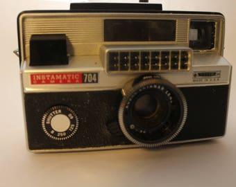 Kodak Instamatic 704 Camera with case and strap