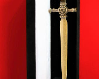 Athame dagger ritual Martiniste high magic and the Theurgy