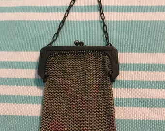 Vintage Whiting & Davis Mesh Coin Purse