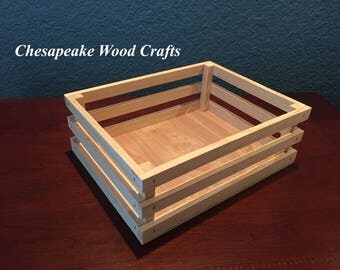 Unfinished wood box etsy for Unfinished wooden boxes for crafts