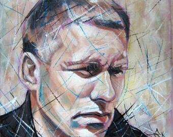 Self portrait - Oil painting portrait