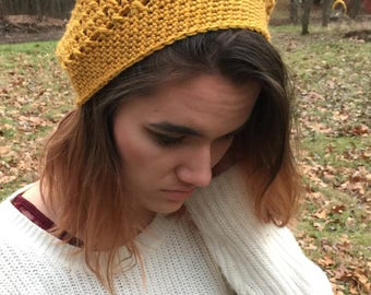 Dashwood Slouchy Beanie in Mustard