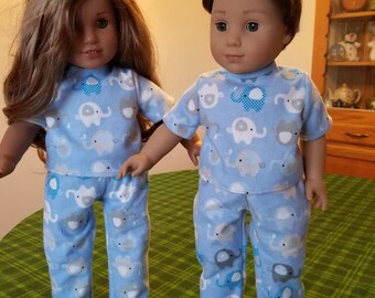 American Girl Doll Pajama (SKU M119)