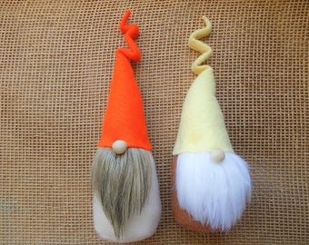 Kinky Hat Gnome All Gnomes 20.00 or less, woodland gnome,Mini Gnomes , ready to ship, garden gnome, forest gnome, elf, gnomes