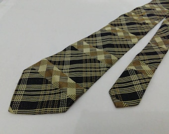 Balenciaga paris neck tie geometric pattern neck ties men