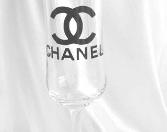 """Set 6 Chanel 2.5""""designer inspired  stickers / decals  sticker logo  autocollant"""