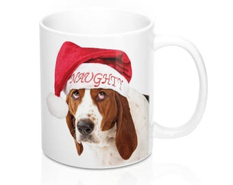 Dog on Santas Naughty List - Coffee Mug