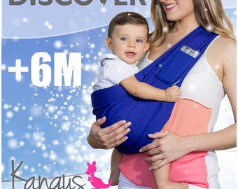 Kangus Discover - Baby Sling, Baby Carrier, Ring, Fular, Canguro, Portabebe.